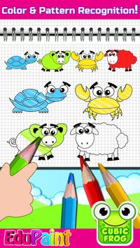 Coloring Games,Painting Book for Toddlers-EduPaint screenshot 2