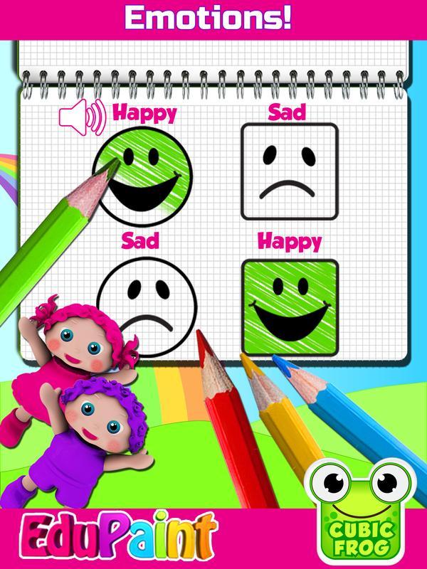 Android 用の 子供用な塗り絵ゲームとカラーブック Preschool Edupaint