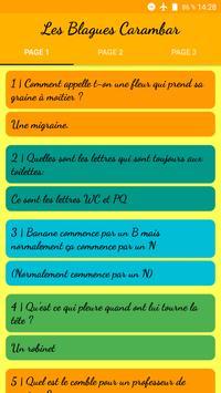 Les Blagues Carambar poster