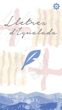 Lletres d'Igualada poster