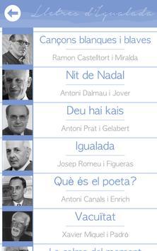 Lletres d'Igualada apk screenshot