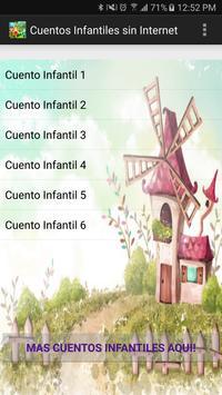 Cuentos Infantiles sin internet poster