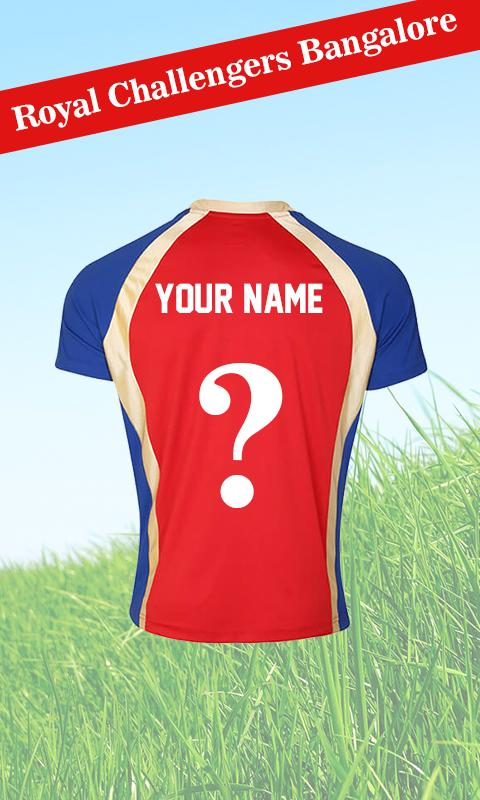 MAKE MY IPL-2017 JERSEY for Android - APK Download