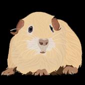Guinea pig flashlight icon