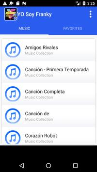 Yo Soy Franky Music apk screenshot
