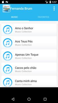 Fernanda Brum songs apk screenshot