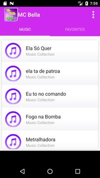 Mc Bella music apk screenshot