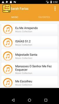 Sarah Farias Music apk screenshot
