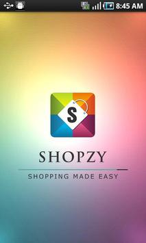 Shopzy - Shopping Mall App poster