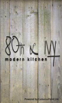 80th & Ivy Modern Kitchen poster
