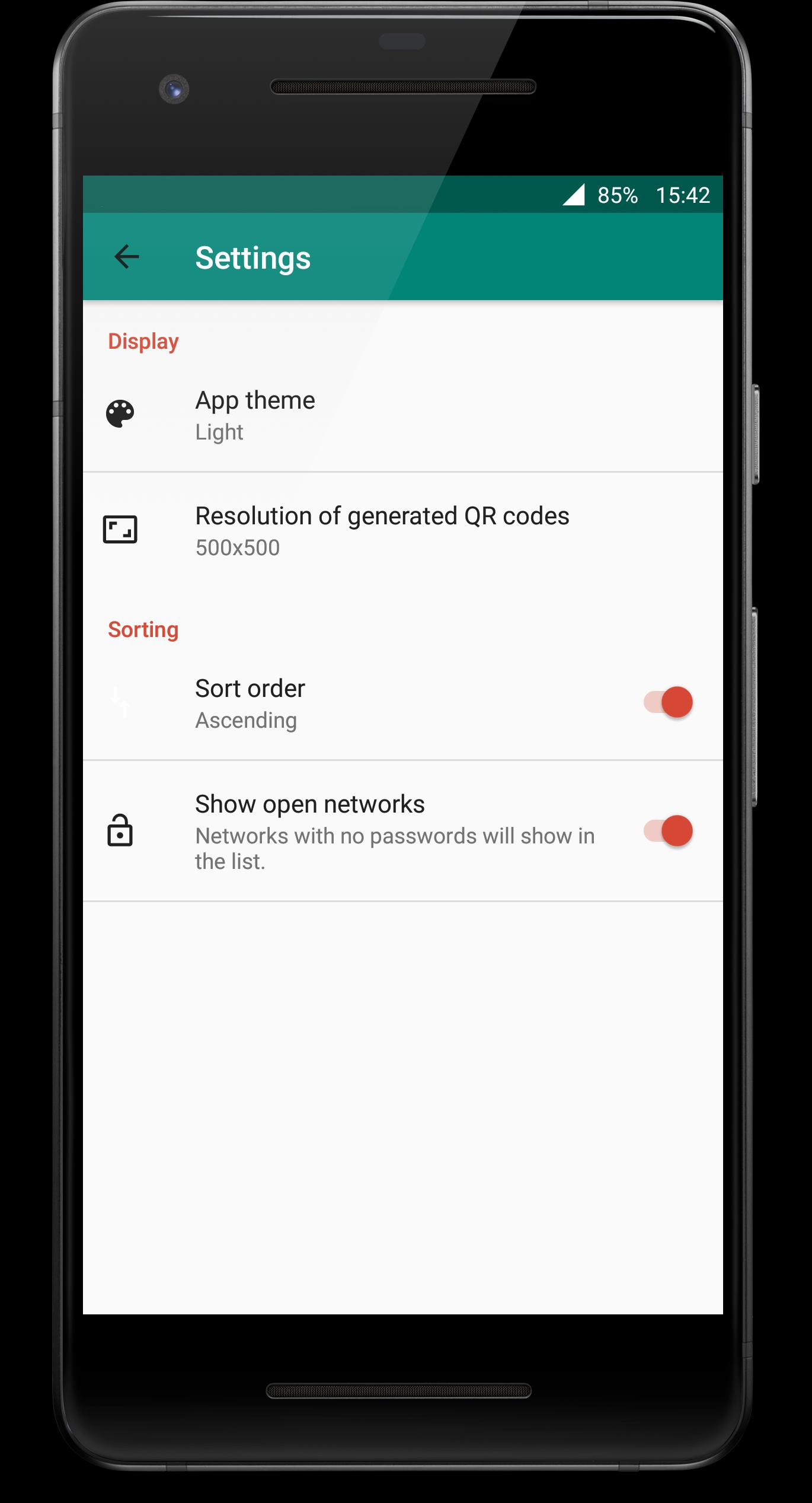 Wifi QR Code Generator & List Passwords (root) for Android