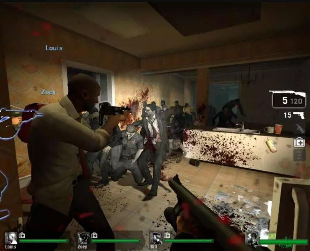 left 4 dead android gameplay apk