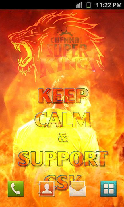 Csk Keep Calm Live Wallpaper For Android Apk Download