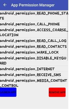 App Permission Manager screenshot 1