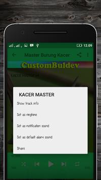 Suara Burung Kacer Untuk Pikat apk screenshot