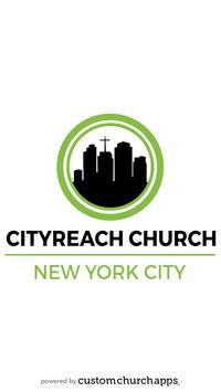 CityReach NYC poster