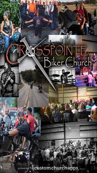 Crosspointe Biker Church poster
