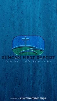Duncan First Baptist poster