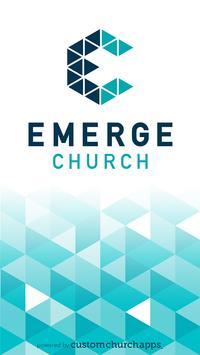 Emerge Church poster