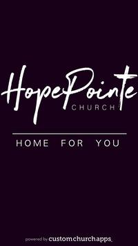 HopePointe Church poster