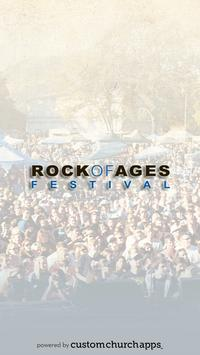 Rock of Ages Festival poster