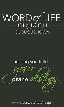 Word of Life Church Dubuque poster