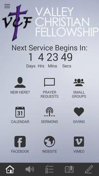 Valley Christian Fellowship apk screenshot