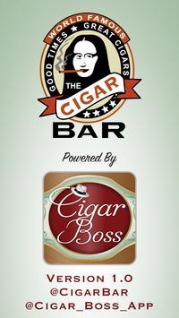 World Famous Cigar Bar poster