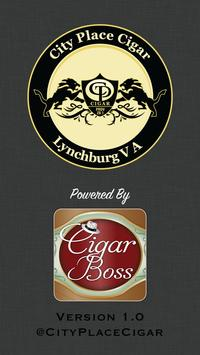 City Place Cigar poster