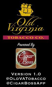 Old Virginia Tobacco Company poster