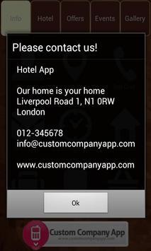 Example Hotel App apk screenshot