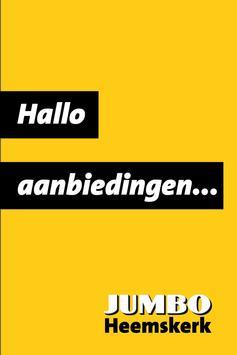 Jumbo Heemskerk poster