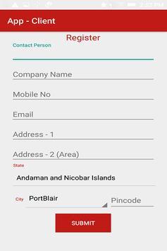 Equipment Service App - Client screenshot 4