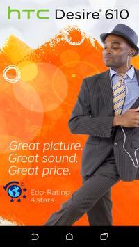 devicealive HTC Desire 610 poster