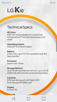 devicealive LG K10 poster