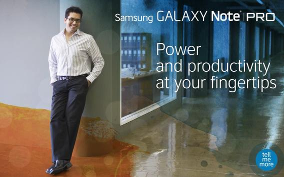 devicealive Galaxy Note Pro poster