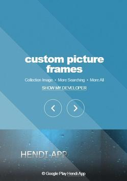 custom picture frames poster