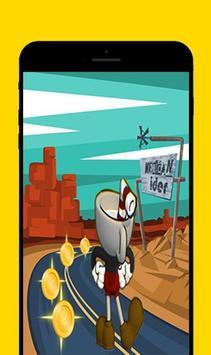 Cup Head Run - Desert Adventure Game poster