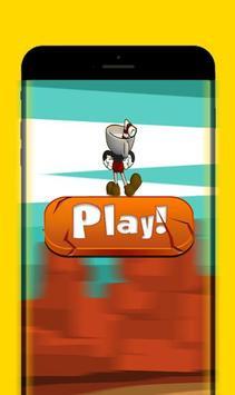 Cup Head Run - Desert Adventure Game screenshot 1
