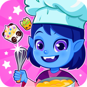 Cupcake maker Vampirina icon