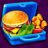Lunch Box Maker : School Food! icon