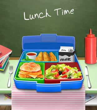 Lunch Box Maker : School Food! poster