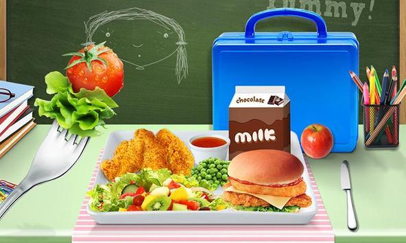 Lunch Box Maker : School Food! screenshot 10