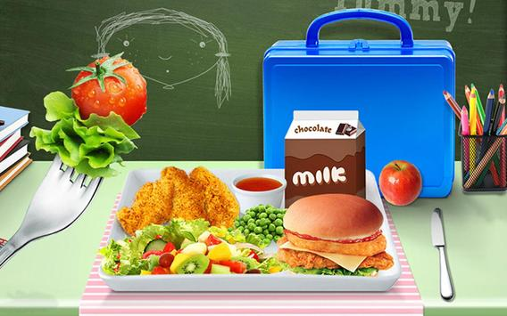 Lunch Box Maker : School Food! screenshot 6