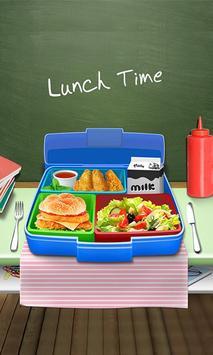 Lunch Box Maker : School Food! screenshot 8