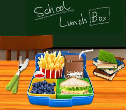 School Lunch Maker! poster