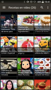 Cupcakes Recetas screenshot 1