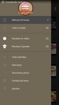 Cupcakes Recetas screenshot 2