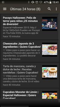Cupcakes Recetas screenshot 4