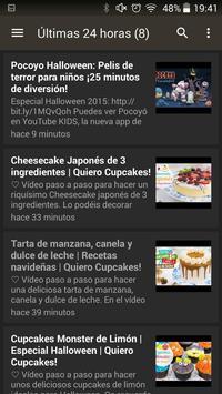 Cupcakes Recetas screenshot 5